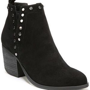 NWT! Fergie Side Slit Ankle Bootie Black